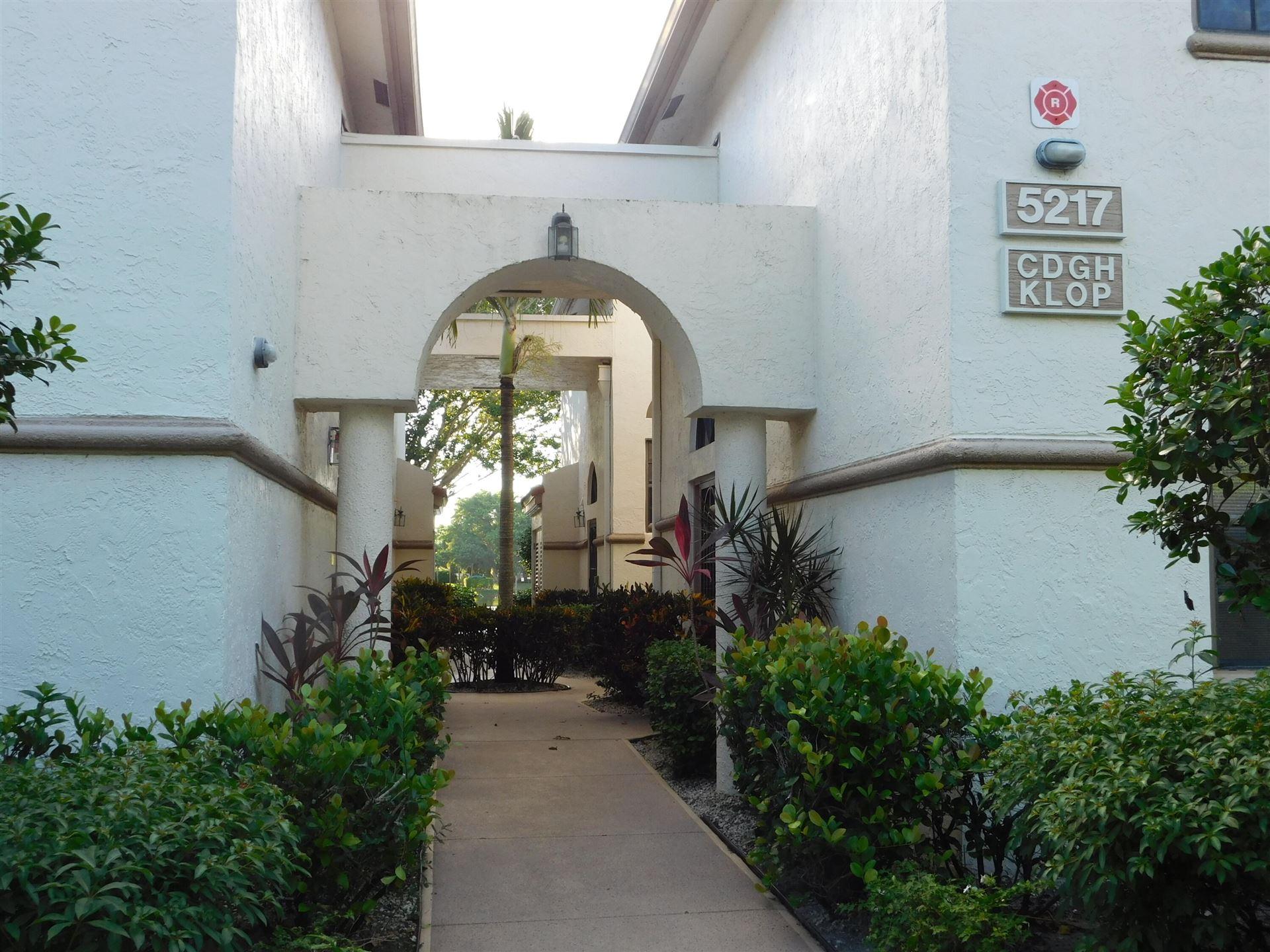 5217 Brisata Circle #H, Boynton Beach, FL 33437 - MLS#: RX-10755105