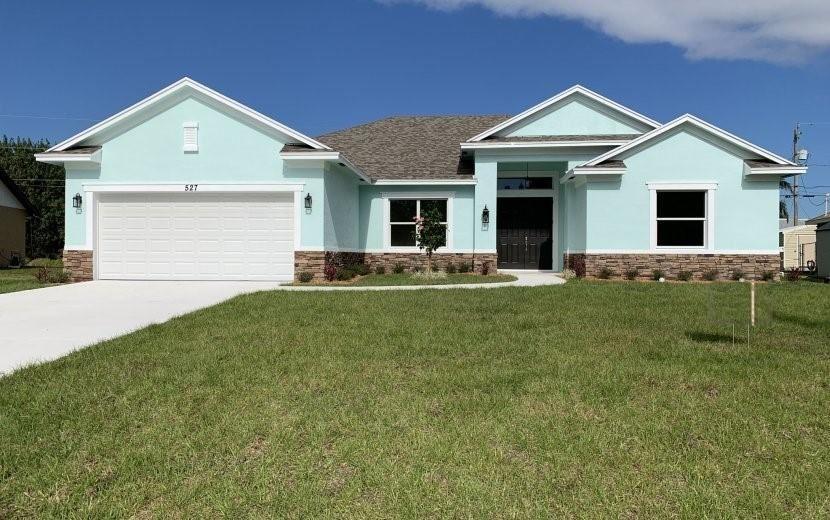 527 SW Columbus Drive, Port Saint Lucie, FL 34953 - #: RX-10595106