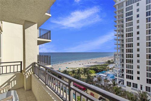 Photo of 3800 N Ocean Drive #1012, Singer Island, FL 33404 (MLS # RX-10692107)