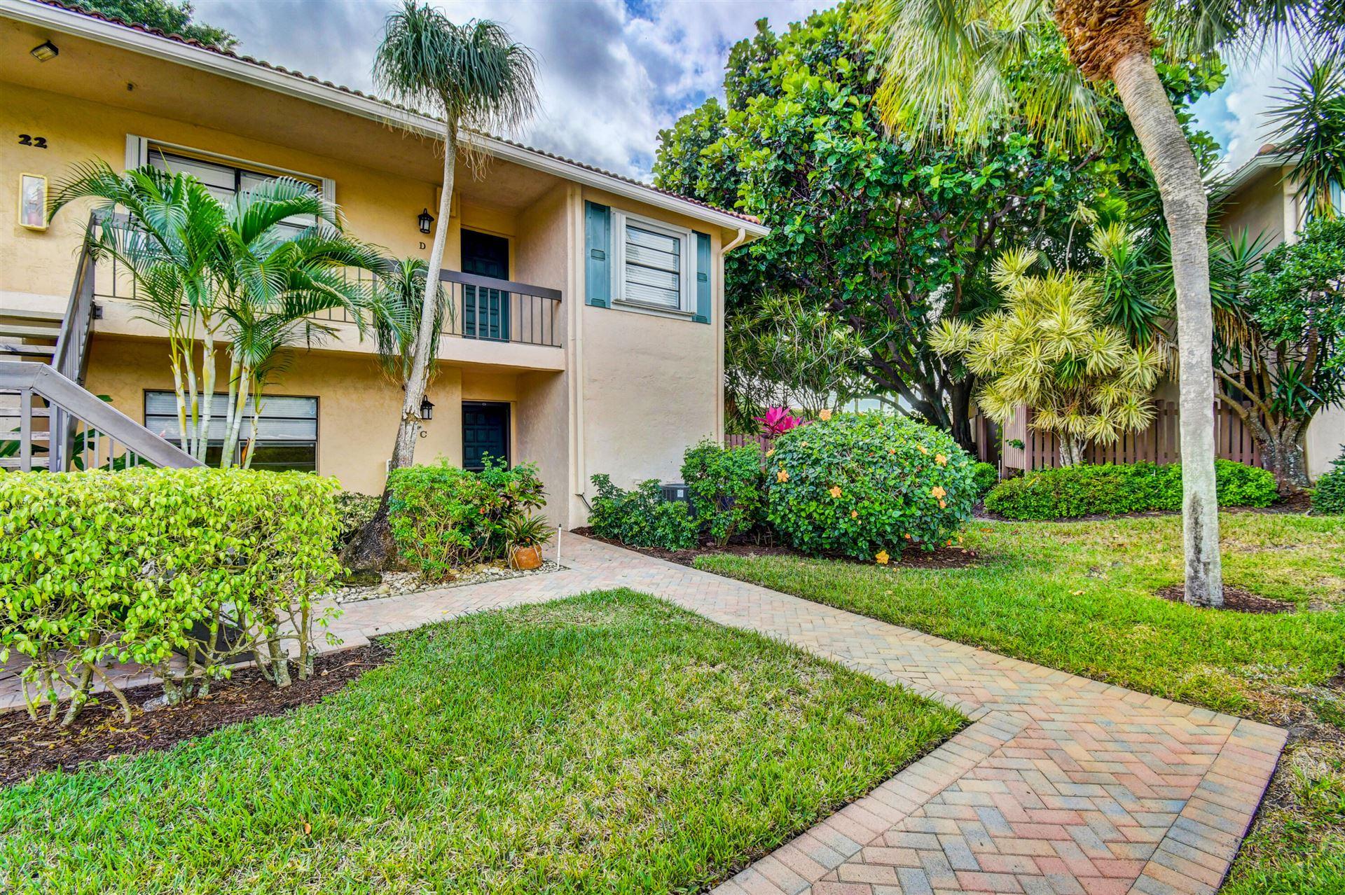 22 Southport Lane #D, Boynton Beach, FL 33436 - MLS#: RX-10755107