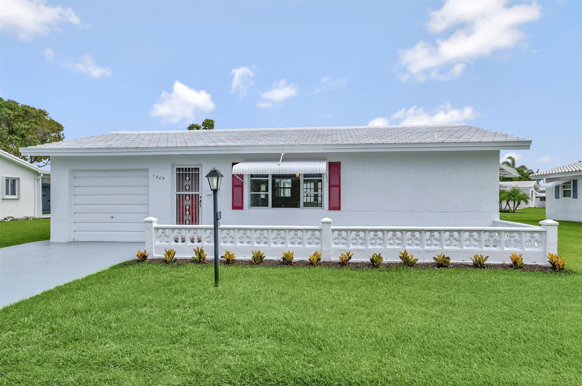 1305 SW 22nd Way, Boynton Beach, FL 33426 - MLS#: RX-10726108
