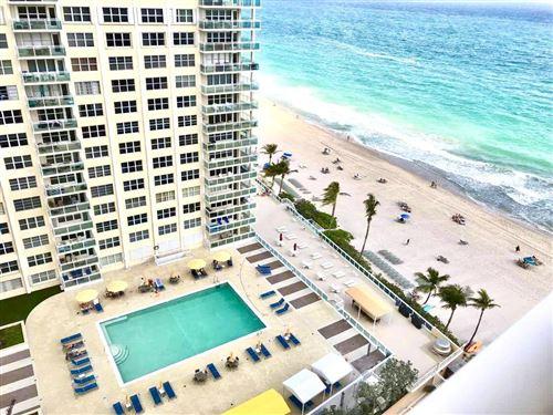 Photo of 3850 Galt Ocean Drive #1610, Fort Lauderdale, FL 33308 (MLS # RX-10696110)