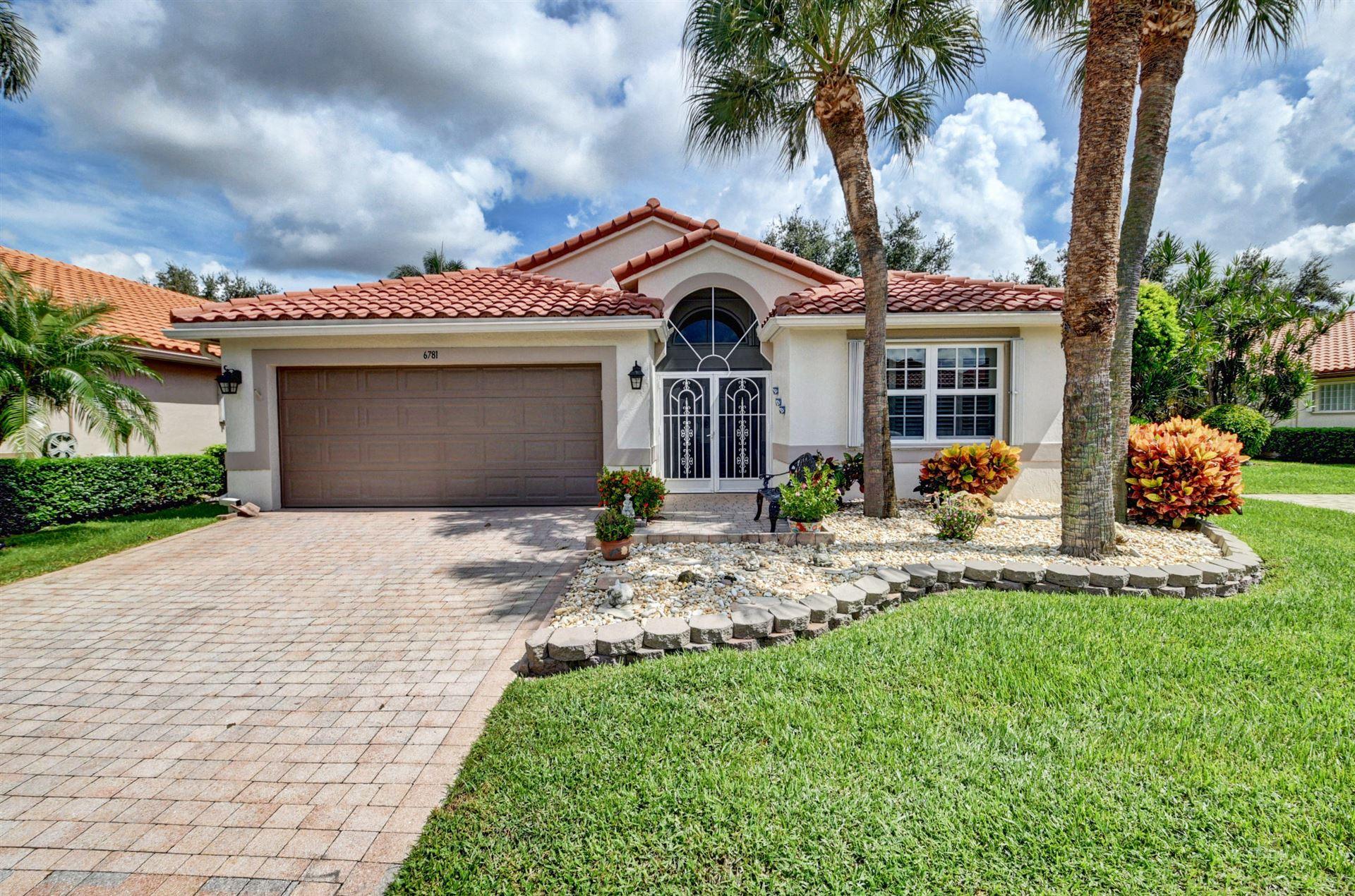 6781 Castlemaine Avenue, Boynton Beach, FL 33437 - #: RX-10633110