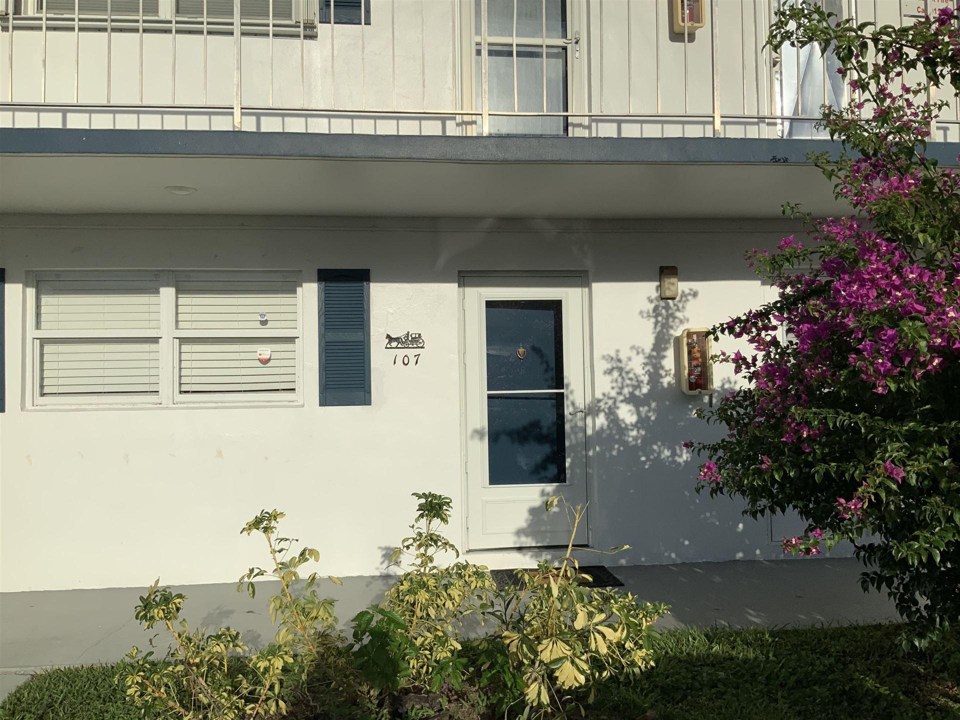 1118 Lake Terrace #107, Boynton Beach, FL 33426 - #: RX-10656110