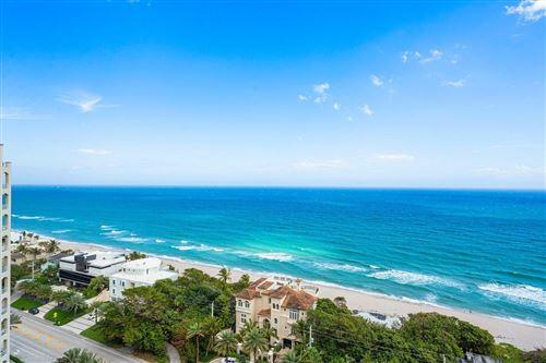 Photo of 3740 S Ocean Boulevard #1702/1703, Highland Beach, FL 33487 (MLS # RX-10695111)