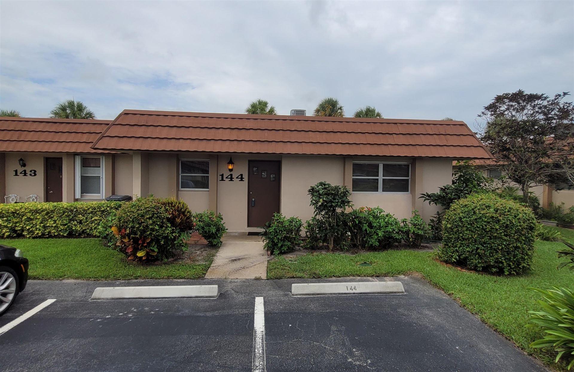 5775 Fernley Drive #144, West Palm Beach, FL 33415 - #: RX-10725111