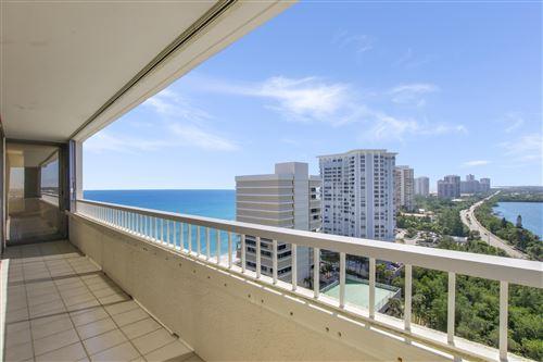 Photo of 5280 N Ocean Drive #14e, Riviera Beach, FL 33404 (MLS # RX-10580113)