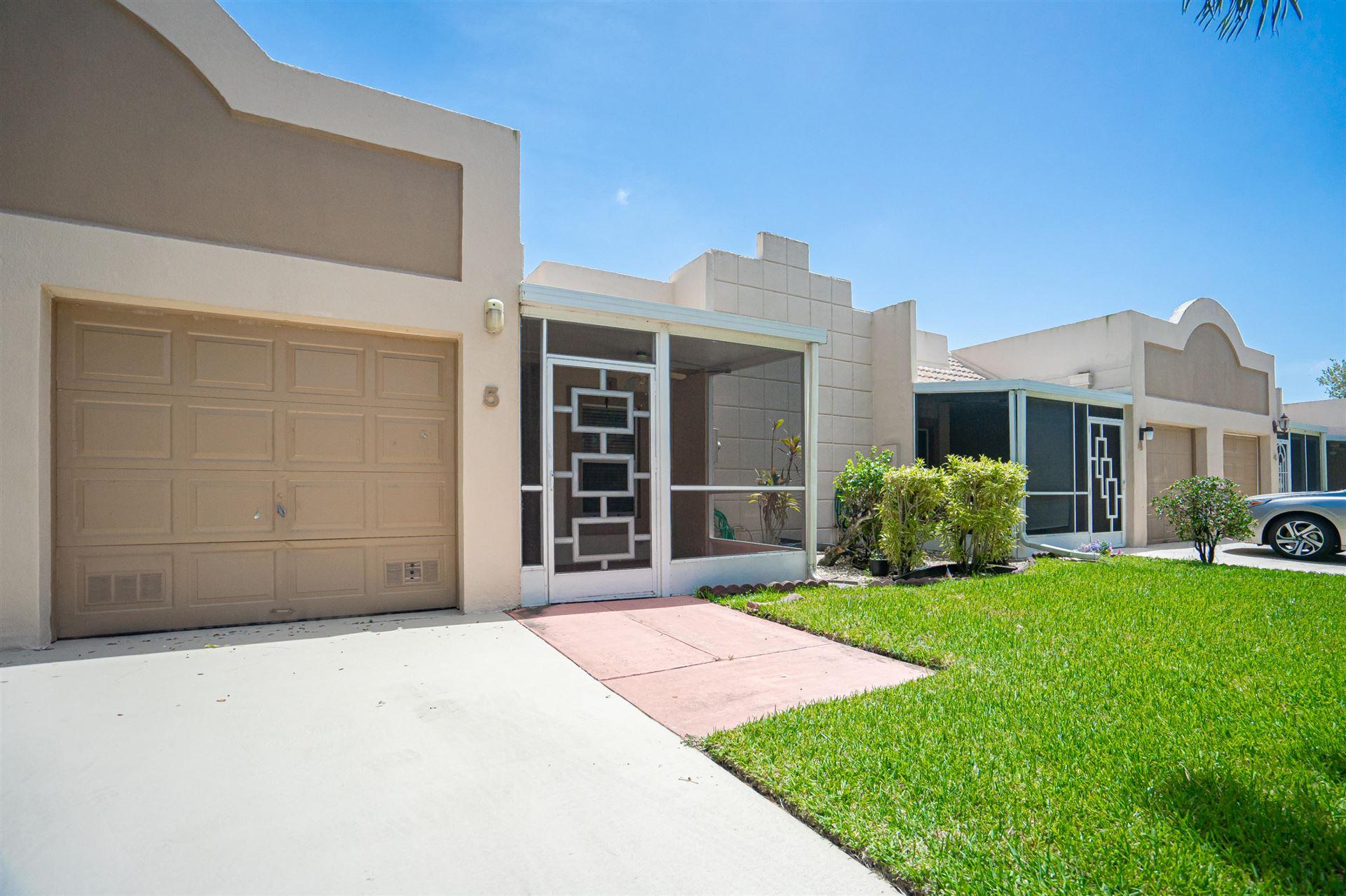 18760 Haywood Terrace #5, Boca Raton, FL 33496 - #: RX-10652114
