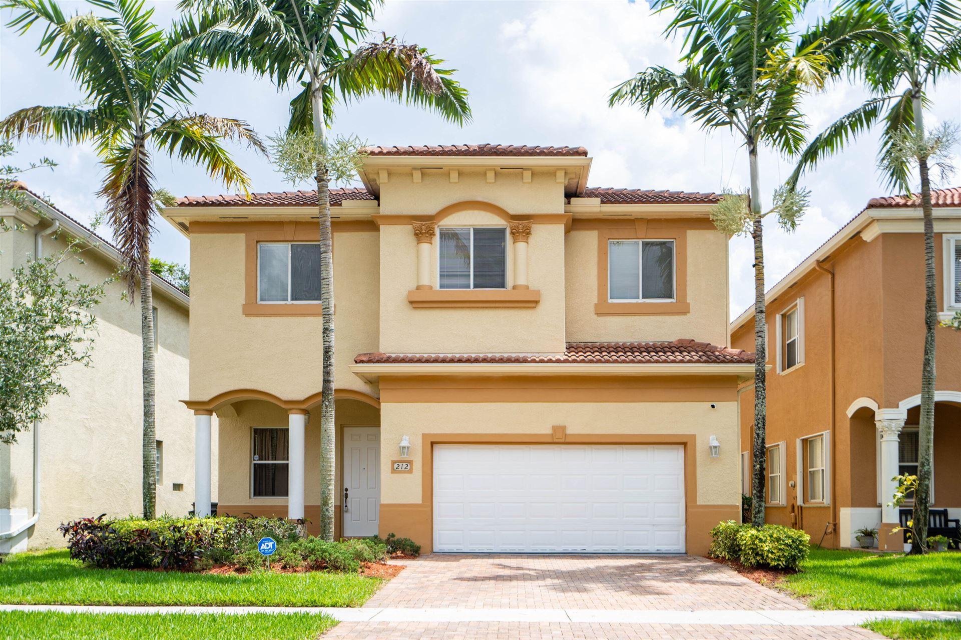 212 Gazetta Way, West Palm Beach, FL 33413 - MLS#: RX-10734115