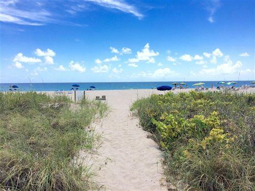 Photo of 3600 N Ocean Drive #302, Singer Island, FL 33404 (MLS # RX-10743117)