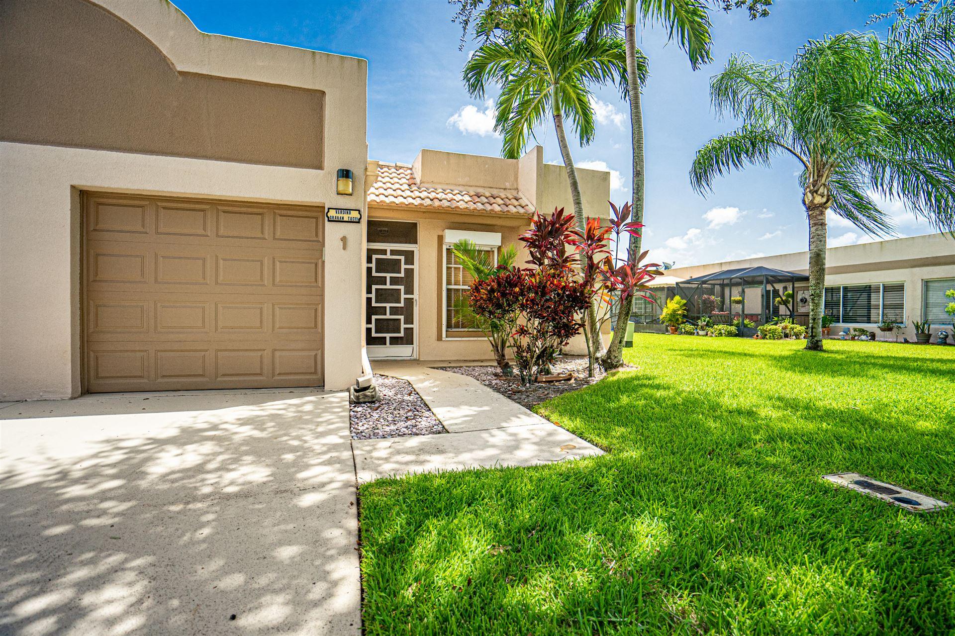 18800 Haywood Terrace #1, Boca Raton, FL 33496 - #: RX-10653117