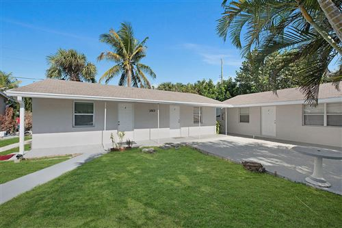 Photo of Listing MLS rx in 1883 Smith Drive #1,2,3,4 North Palm Beach FL 33408