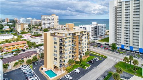 Photo of 801 N Ocean Boulevard #301, Pompano Beach, FL 33062 (MLS # RX-10592120)