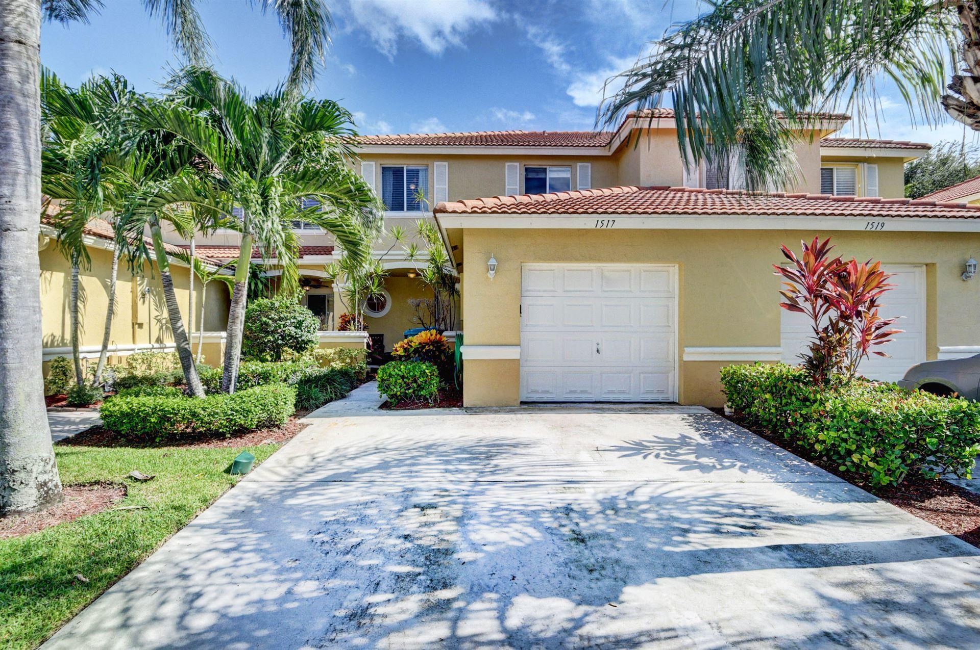 1517 Arezzo Circle, Boynton Beach, FL 33436 - #: RX-10645120