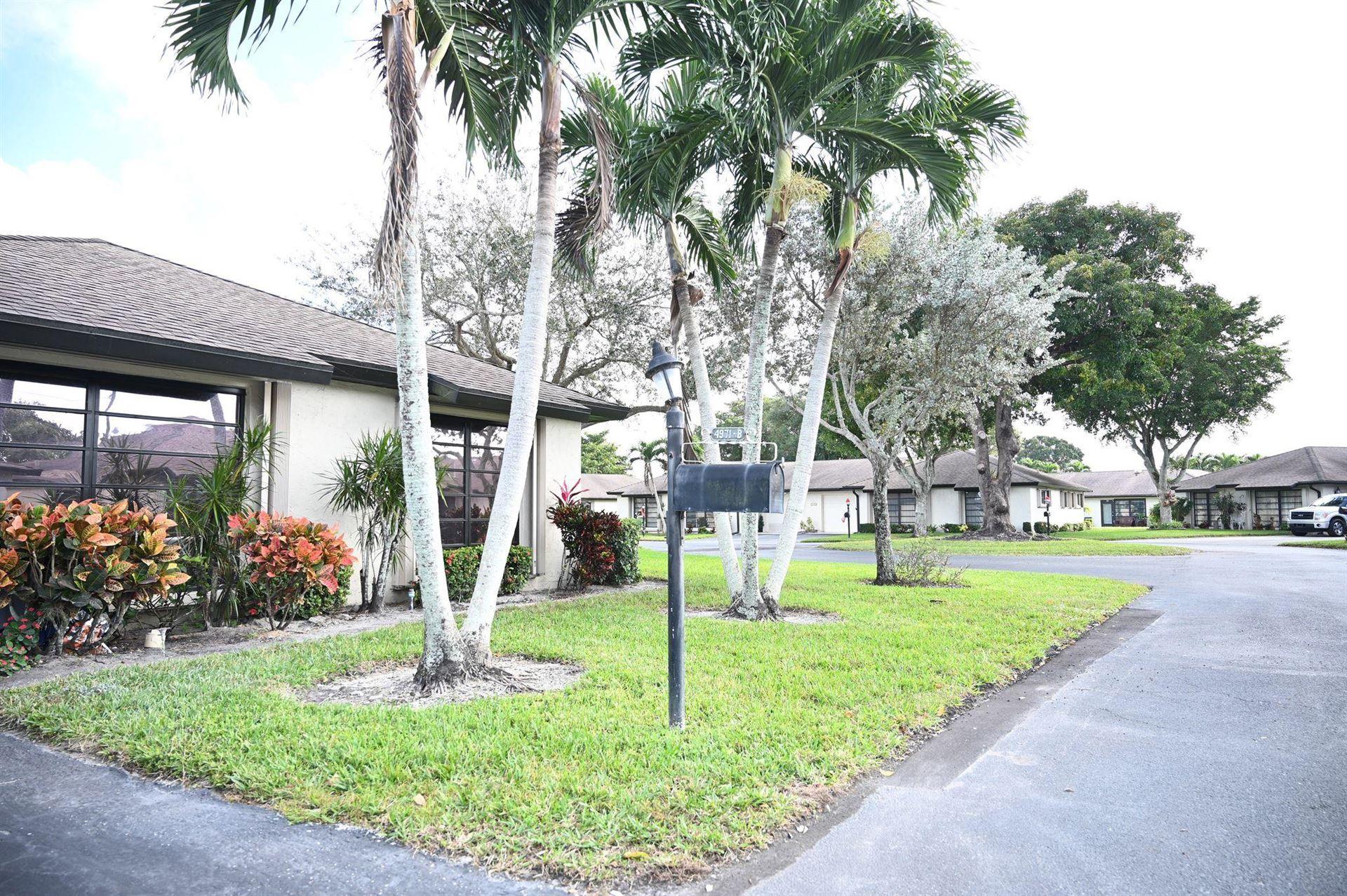 4971 Eaglewood B Road #B, Boynton Beach, FL 33436 - #: RX-10682120