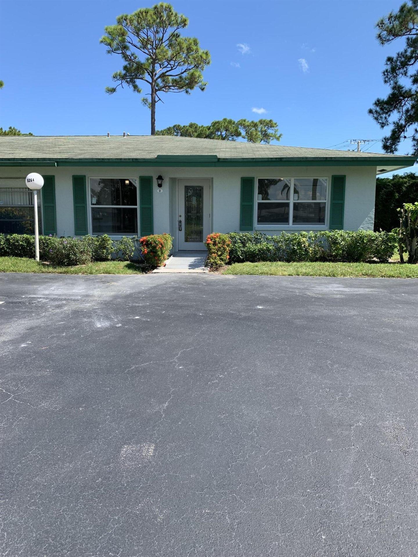 5264 Privet Place #D, Delray Beach, FL 33484 - MLS#: RX-10749121