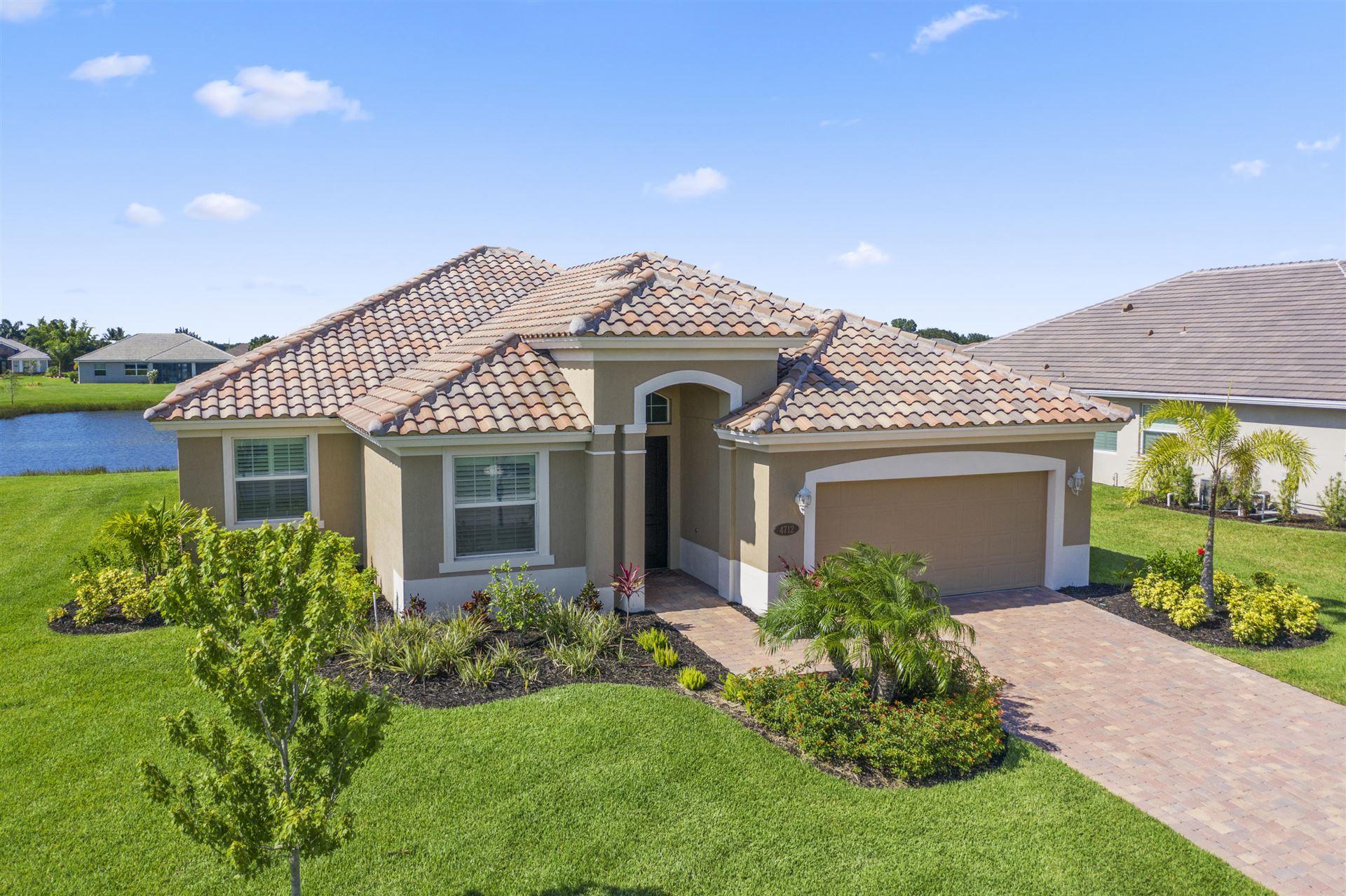 4712 Four Lakes Circle SW, Vero Beach, FL 32968 - #: RX-10636123