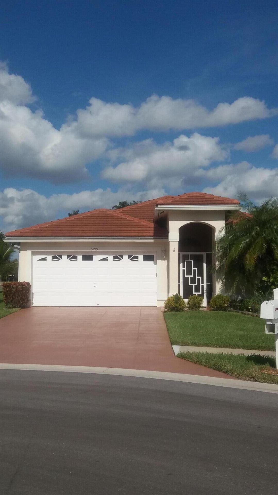 6190 Harbour Greens Drive, Lake Worth, FL 33467 - MLS#: RX-10754123
