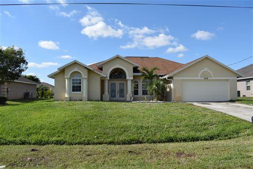 Photo of 4436 SW Idlewild Street, Port Saint Lucie, FL 34953 (MLS # RX-10638124)