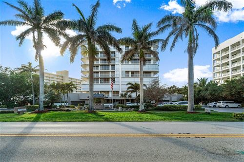 Photo of 3210 S Ocean Boulevard #804, Highland Beach, FL 33487 (MLS # RX-10694125)