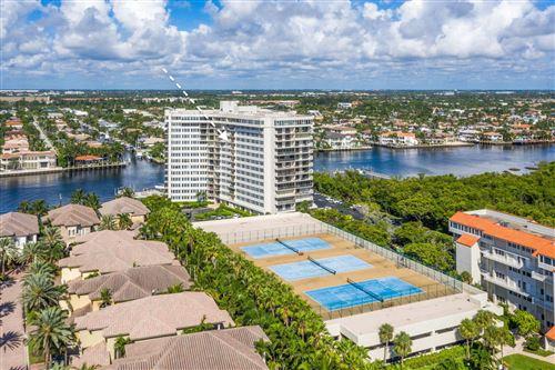 Photo of 3912 S Ocean Boulevard #1104, Highland Beach, FL 33487 (MLS # RX-10750125)