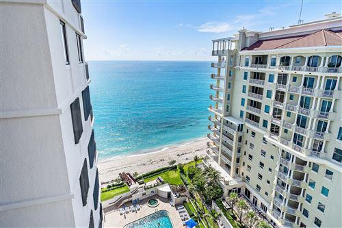 Photo of 5380 N Ocean Drive #17-A, Singer Island, FL 33404 (MLS # RX-10735126)