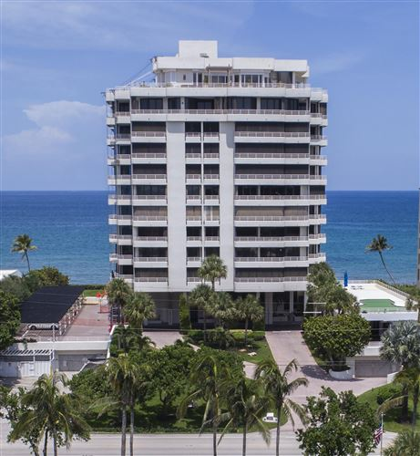 Photo of 2901 S Ocean Boulevard #904, Highland Beach, FL 33487 (MLS # RX-10742126)