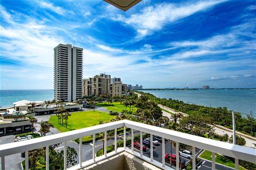 Photo of 5550 N Ocean Drive #7-B, Singer Island, FL 33404 (MLS # RX-10704127)