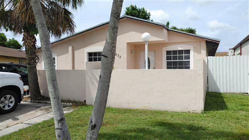 Photo of 5573 NW 193rd Lane, Miami Gardens, FL 33055 (MLS # RX-10742127)