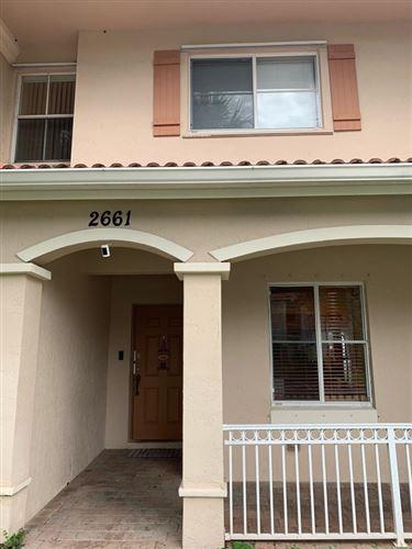Foto de inmueble con direccion 2661 SW 83rd Avenue #104 Miramar FL 33025 con MLS RX-10666128