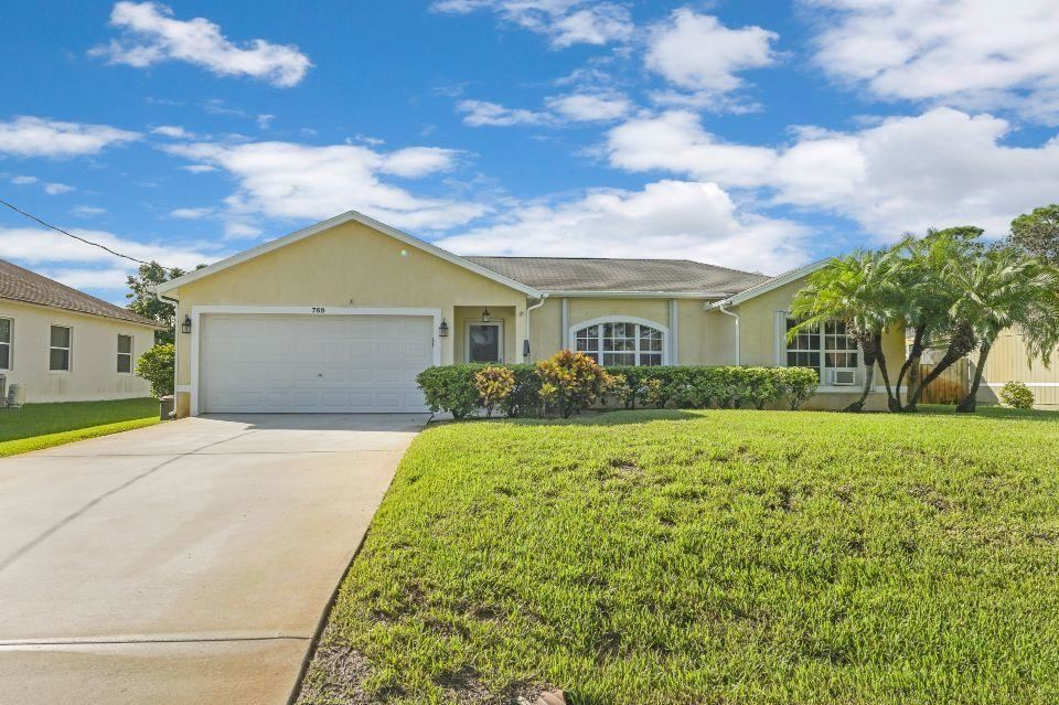 768 SW Arkansas Terrace, Port Saint Lucie, FL 34953 - #: RX-10658128