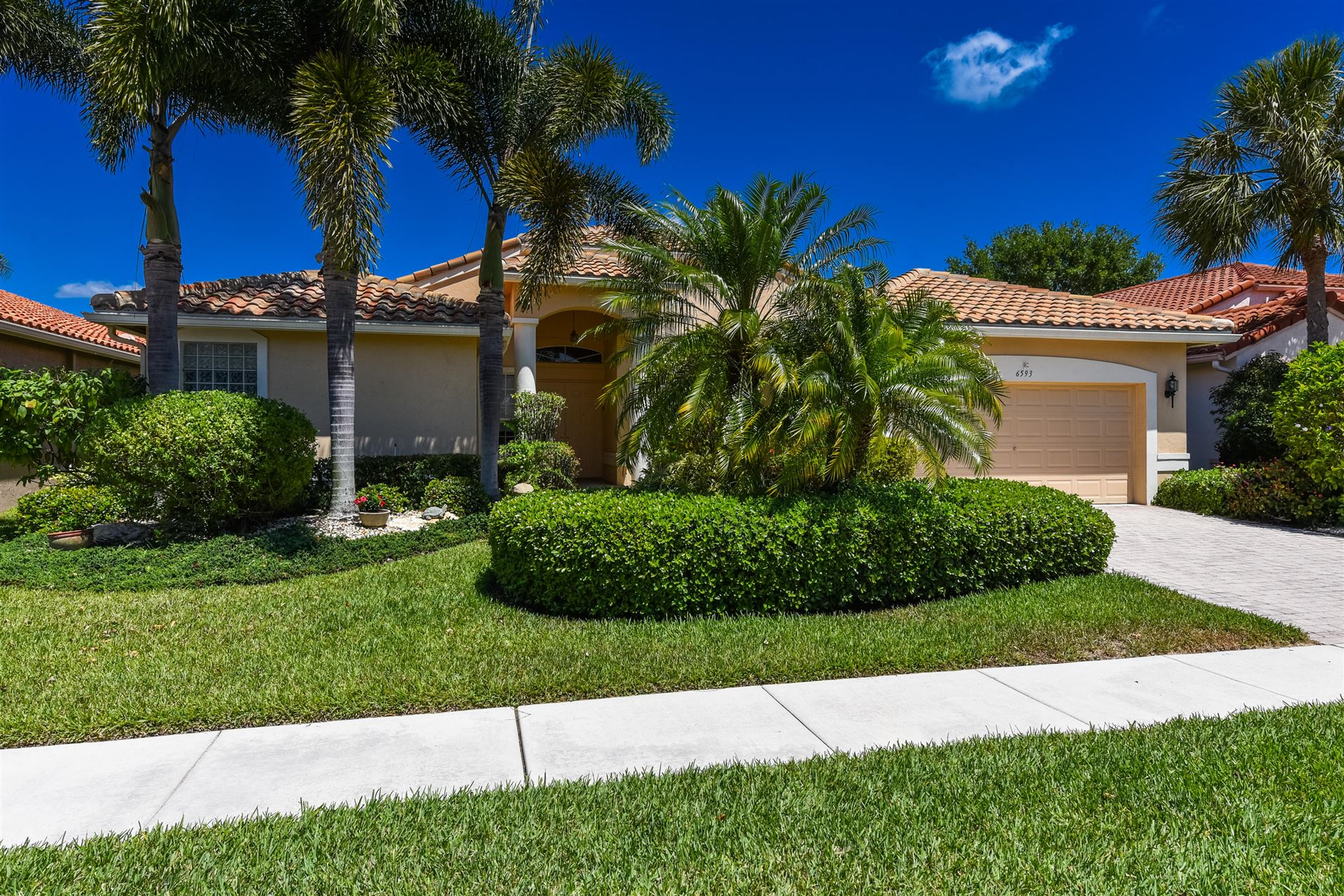 6593 Arno Way, Boynton Beach, FL 33472 - MLS#: RX-10707129