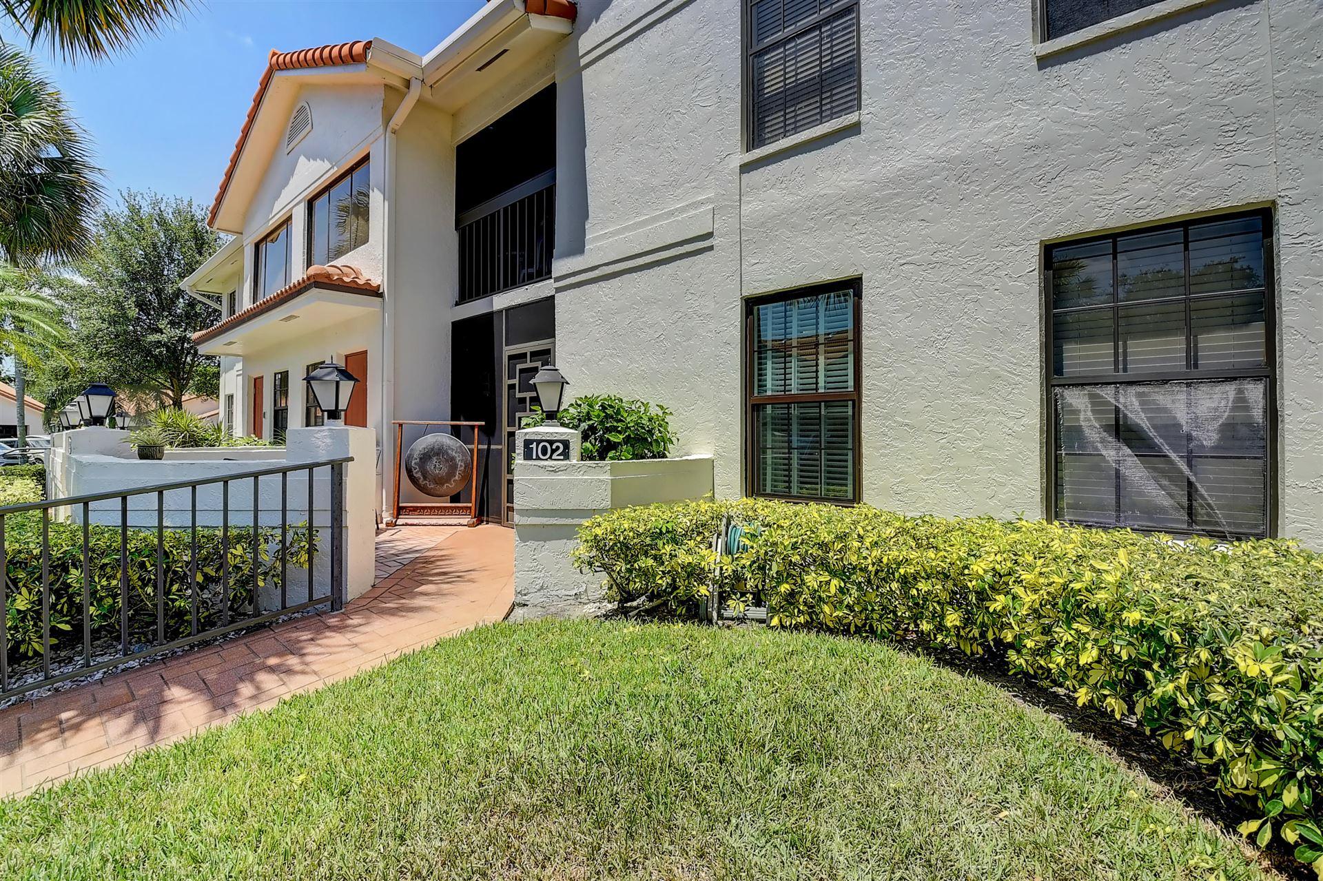 9729 Sills Drive E #102, Boynton Beach, FL 33437 - MLS#: RX-10719129