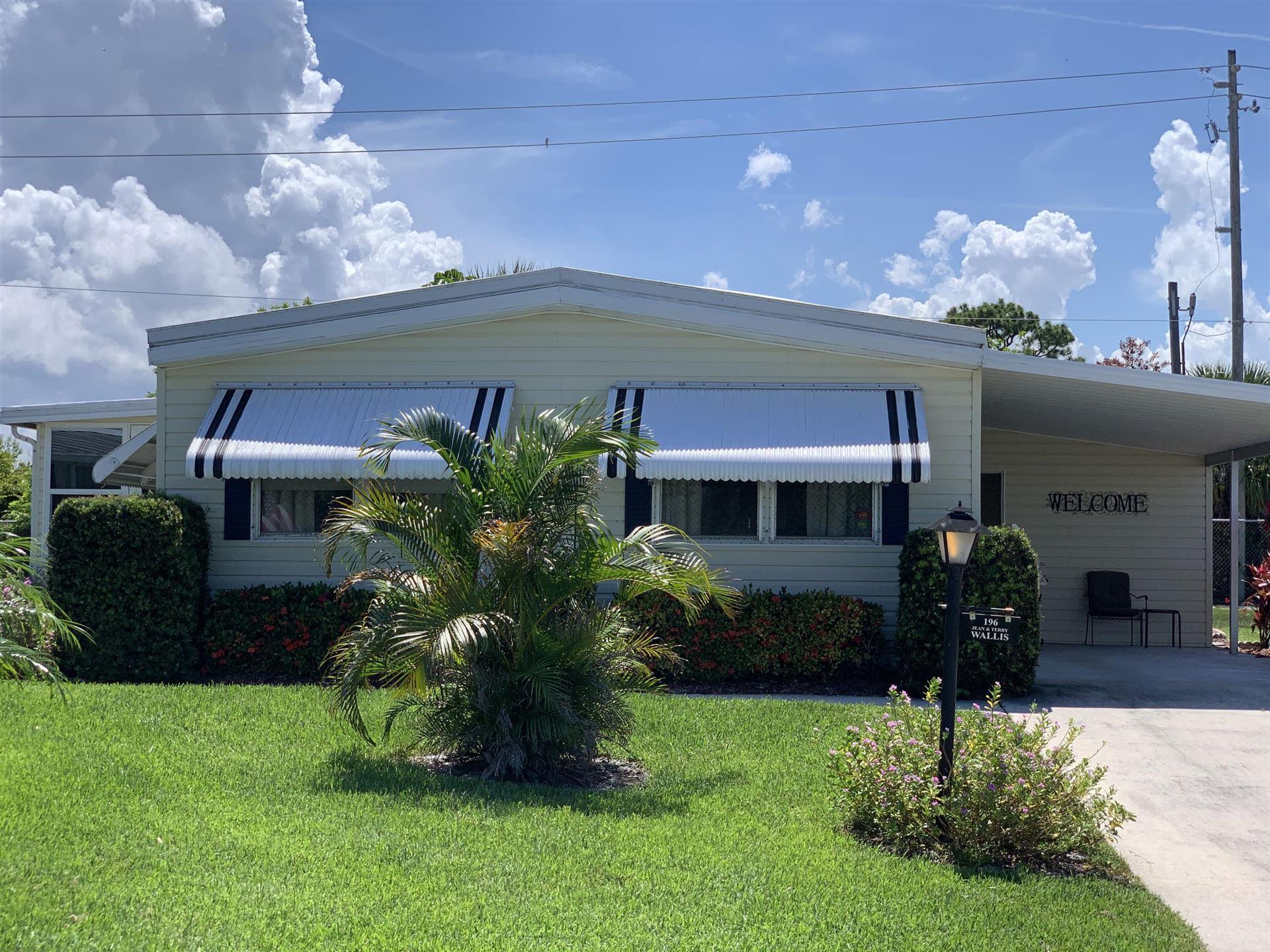 196 Emerald Drive NE, Jensen Beach, FL 34957 - #: RX-10634130