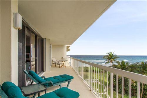 Photo of 3300 S Ocean Boulevard #401 S, Palm Beach, FL 33480 (MLS # RX-10632135)