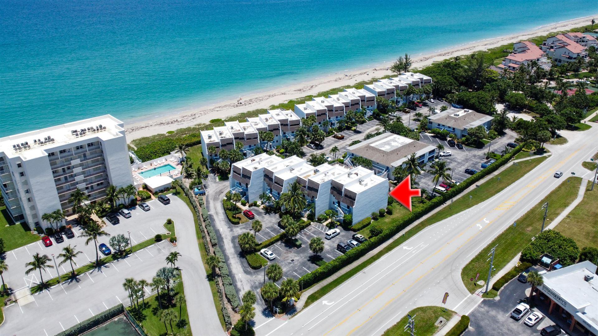 11000 S Ocean Drive #6-B, Jensen Beach, FL 34957 - #: RX-10634135