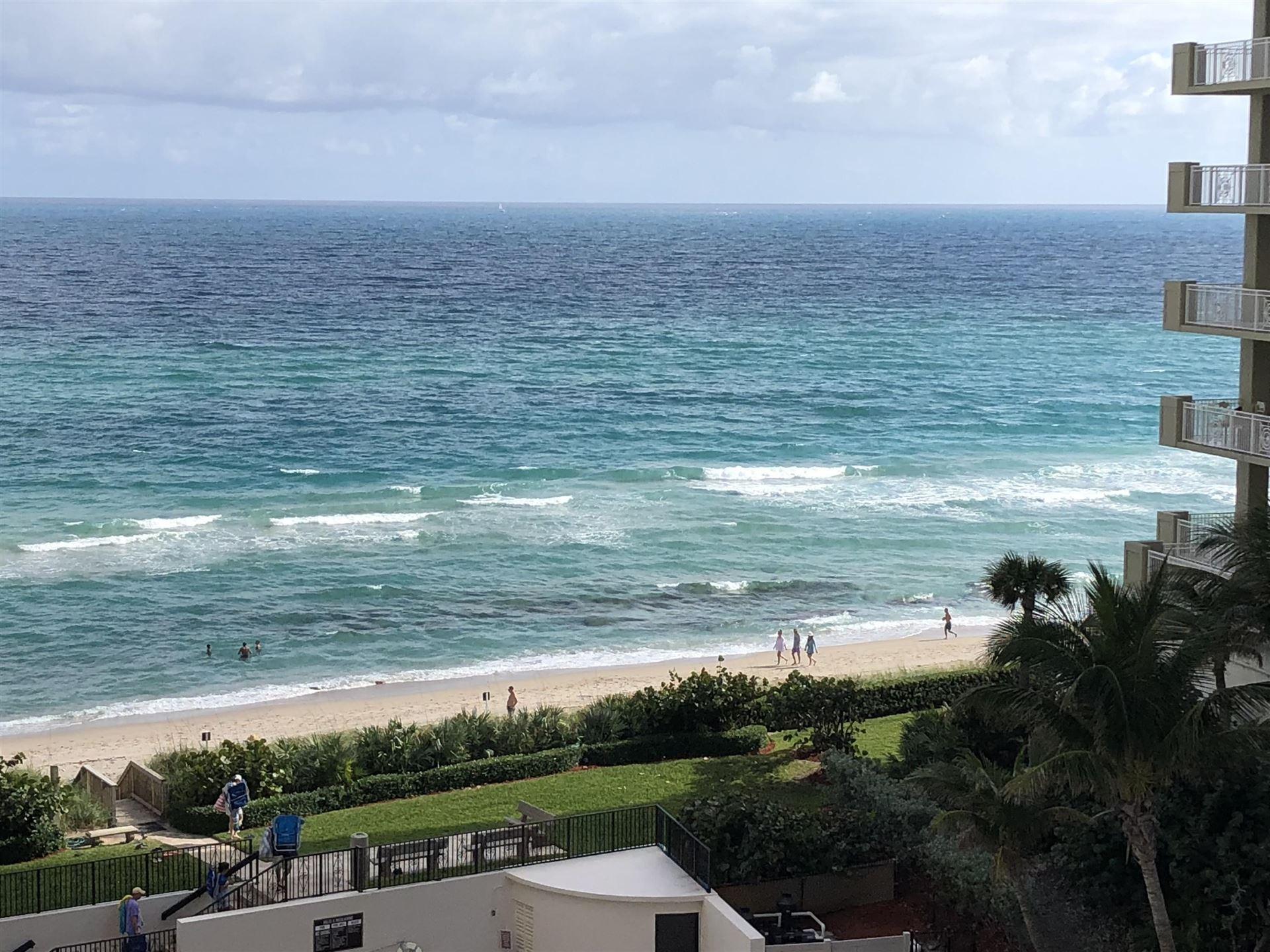 Photo of 5380 N Ocean Drive #7-A, Singer Island, FL 33404 (MLS # RX-10629136)