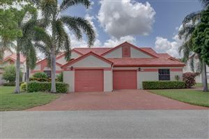 Photo of 7628 Lexington Club Boulevard #A, Delray Beach, FL 33446 (MLS # RX-10455141)