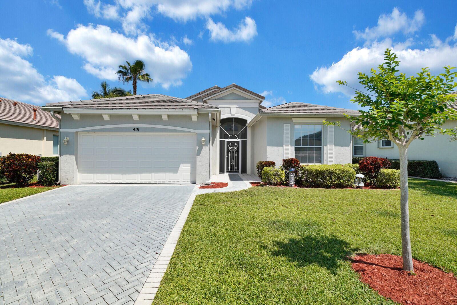 419 SW Talquin Lane, Port Saint Lucie, FL 34986 - #: RX-10709141
