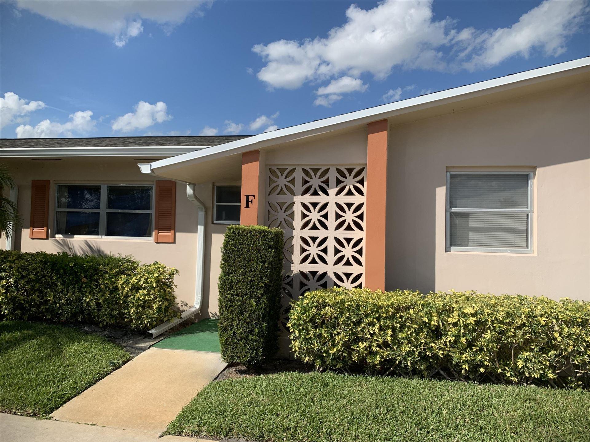 2655 Dudley Drive E #F, West Palm Beach, FL 33415 - MLS#: RX-10719141