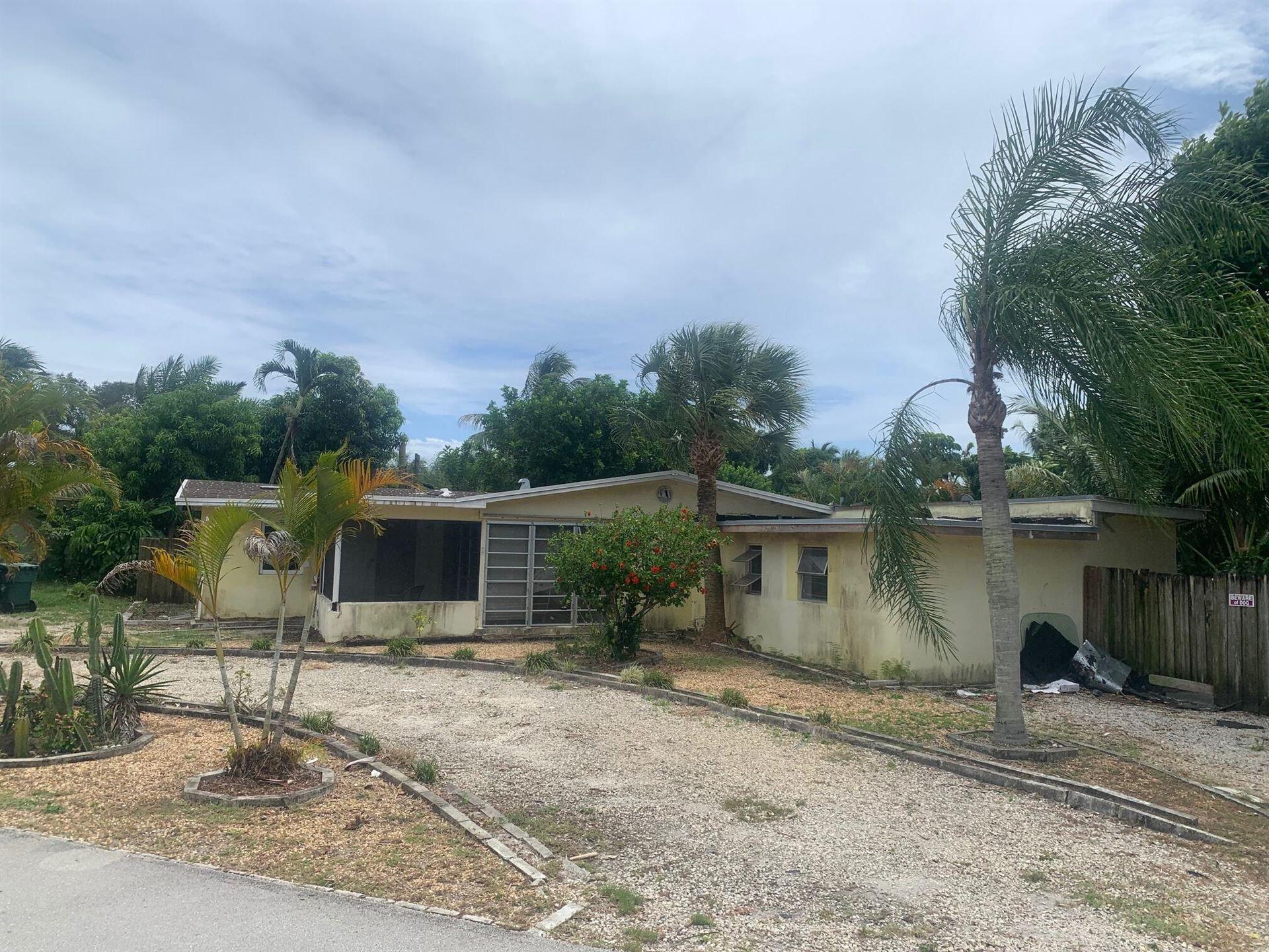 1742 NE 7th Terrace, Fort Lauderdale, FL 33305 - #: RX-10742141