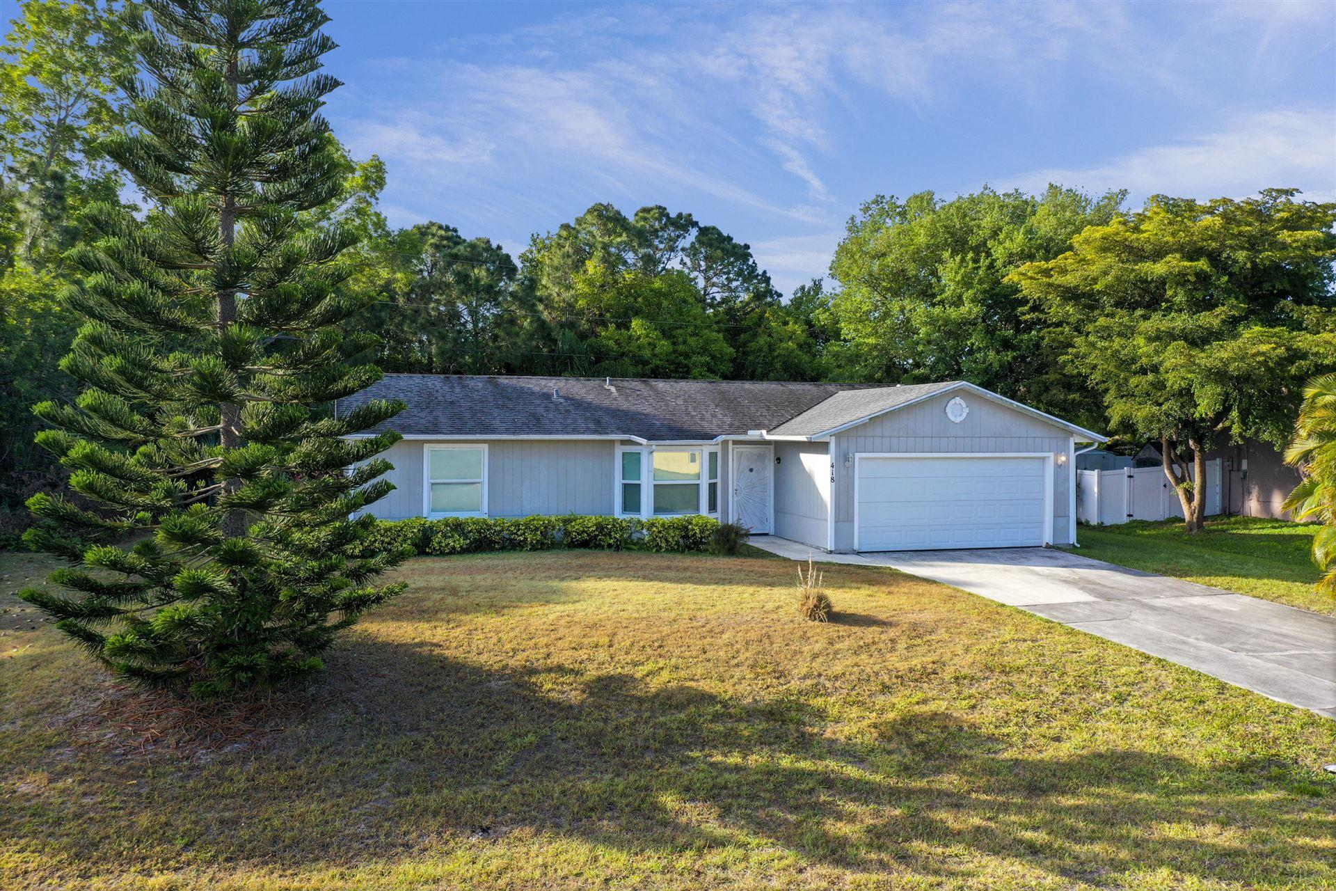 418 SW Dauphin Avenue, Port Saint Lucie, FL 34953 - #: RX-10704142