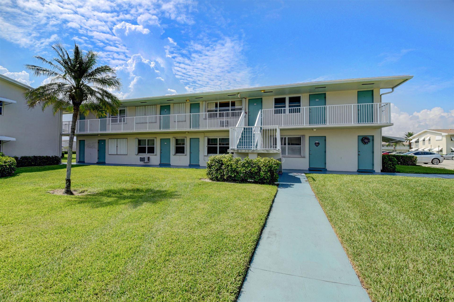 560 Horizons W #202, Boynton Beach, FL 33435 - #: RX-10639143