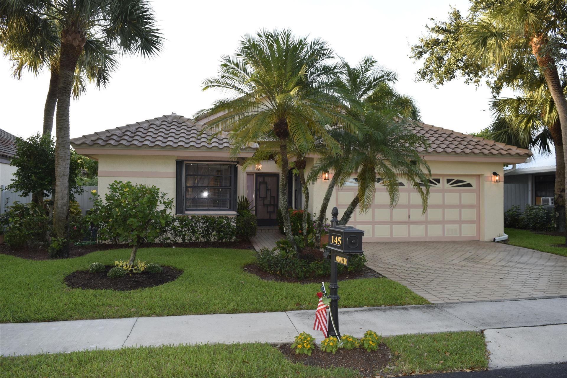 145 Orange Drive, Boynton Beach, FL 33436 - #: RX-10651143