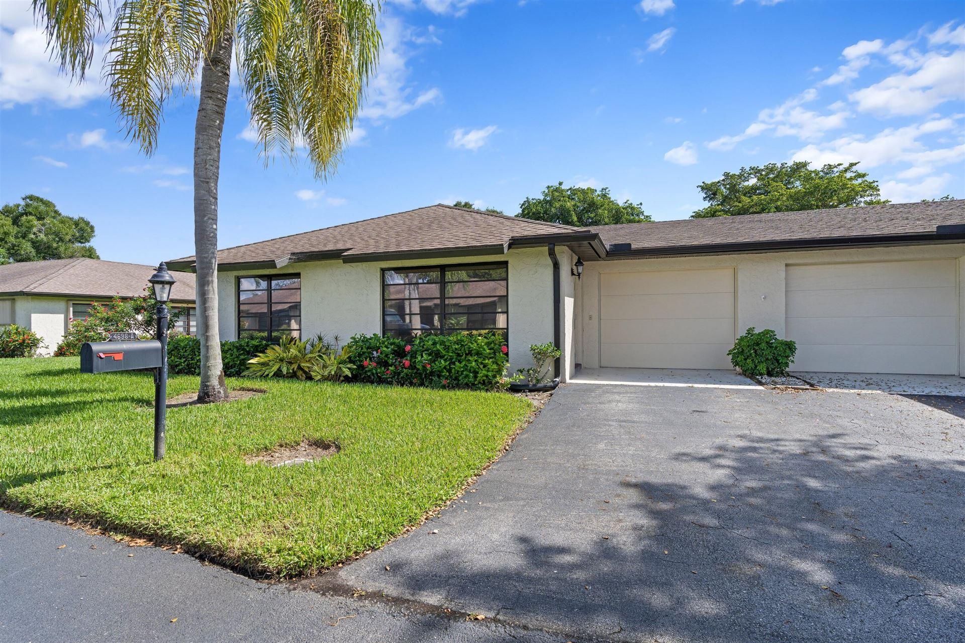 4698 Greentree Terrace #A, Boynton Beach, FL 33436 - MLS#: RX-10752143