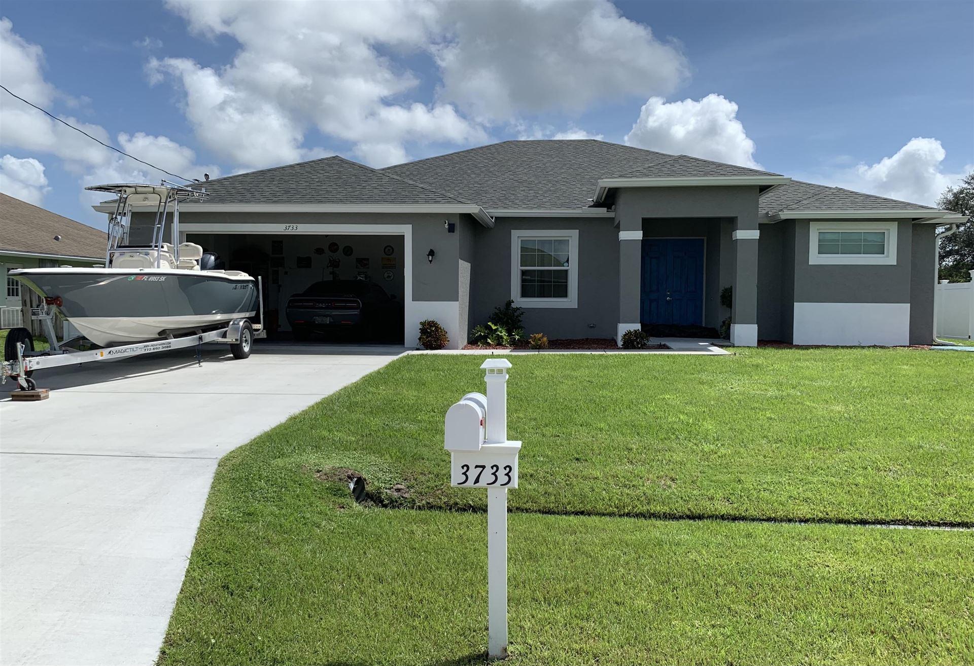 3733 SW Wycoff Street, Port Saint Lucie, FL 34953 - #: RX-10723145