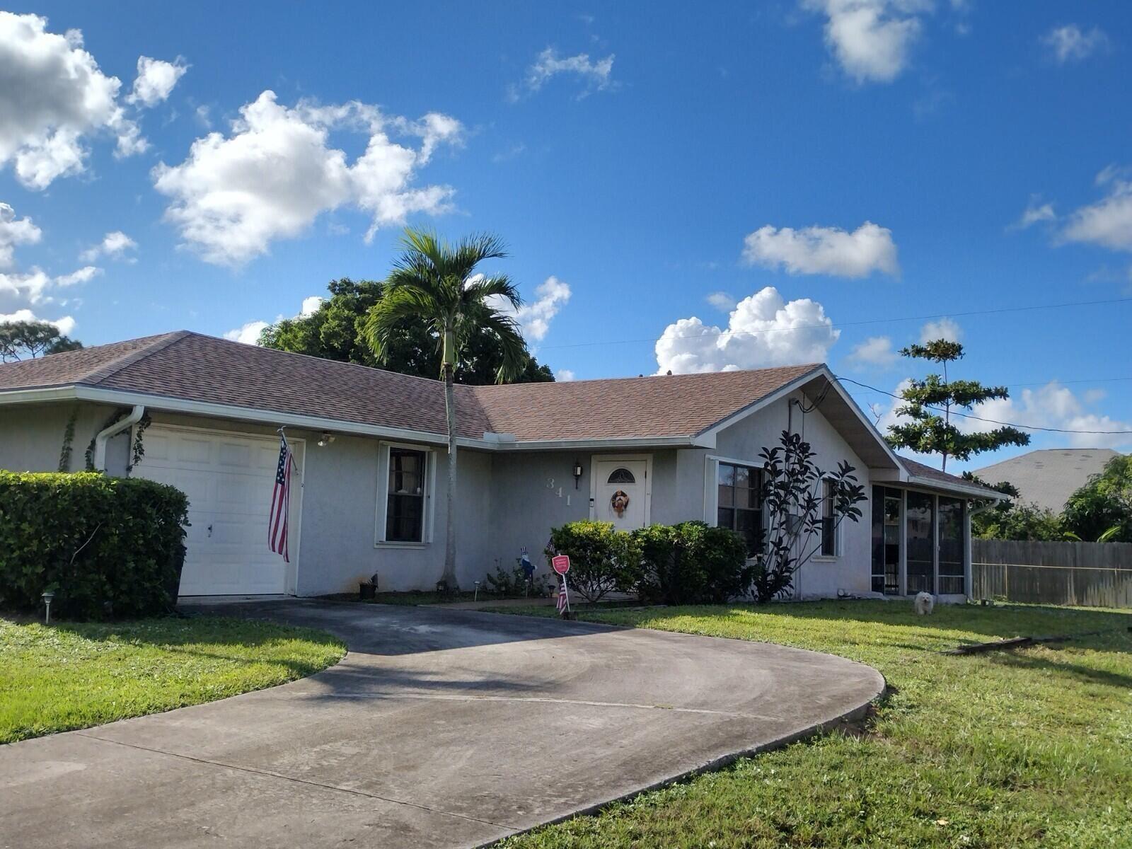 341 SE Volkerts Terrace, Port Saint Lucie, FL 34983 - #: RX-10752147