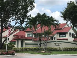 Photo of 14 Lexington Lane E #C, Palm Beach Gardens, FL 33418 (MLS # RX-10544149)