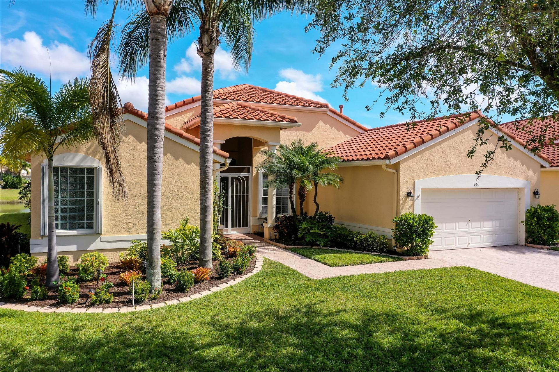 494 NW Blue Lake Drive, Port Saint Lucie, FL 34986 - #: RX-10610150