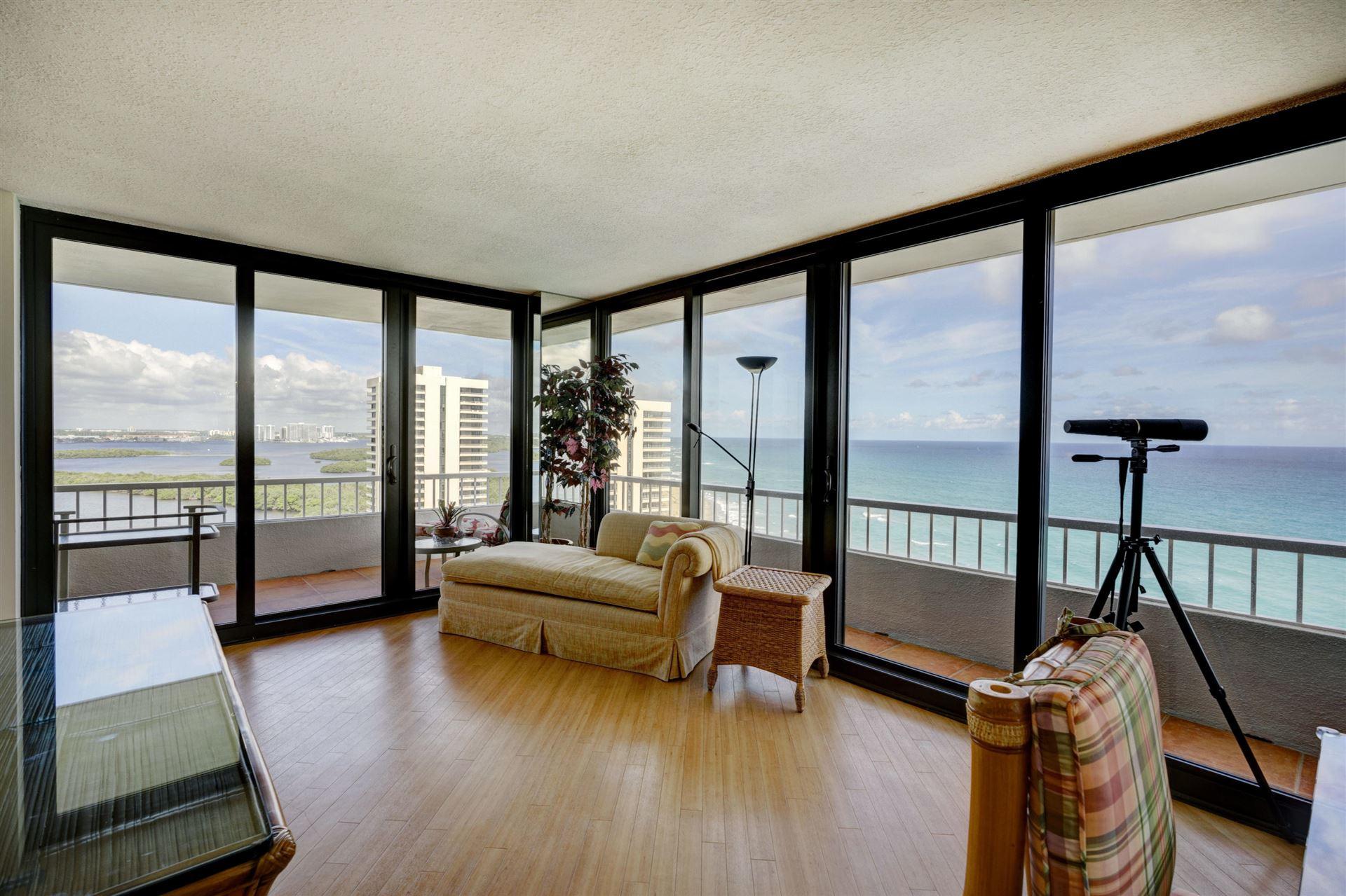 Photo of 5510 N Ocean Drive #18 C, Singer Island, FL 33404 (MLS # RX-10654150)